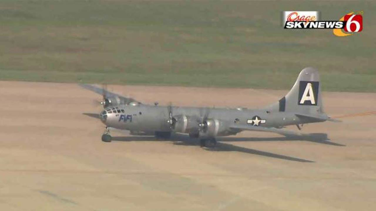 B-29 'FIFI' Visits Tulsa Air And Space Museum