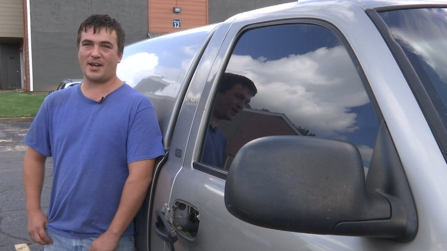 Thieves Steal Tools, Livelihood From Single Father In Tulsa