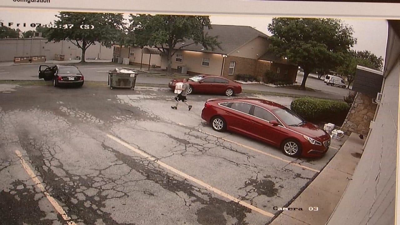 Video Shows Thief Steal Dog Food From Tulsa Veterinary Office