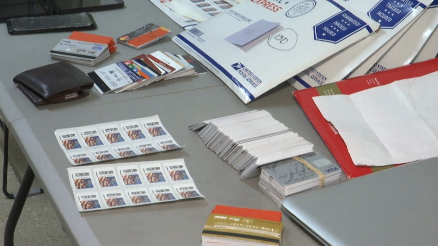 Hundreds Of Stolen Credit Cards Found In Car, Rogers County Deputies Say