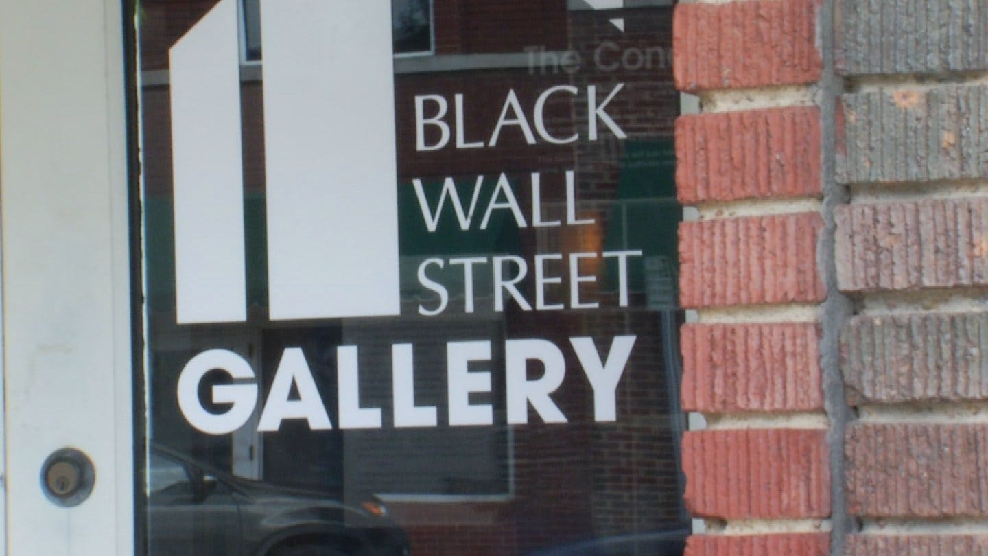Black Wall Street Gallery Brings Arts Back To Greenwood District