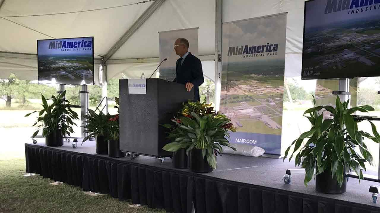 Pryor MidAmerica Industrial Park Breaks Ground On 'The District' Development
