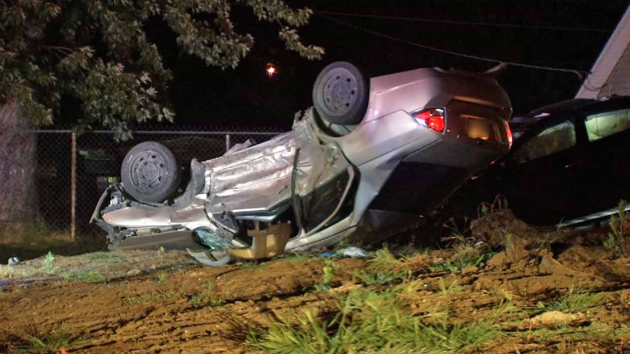 TPD: Car That Led Police On Chase Crashes Into Innocent Driver