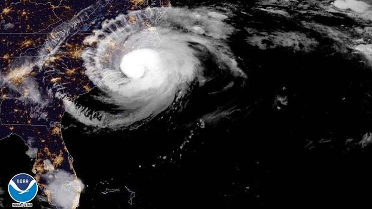 Hurricane Florence Slamming North Carolina Coast