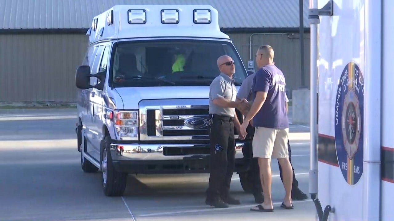 Mayes County First Responders Answer Call To Help Florence Victims