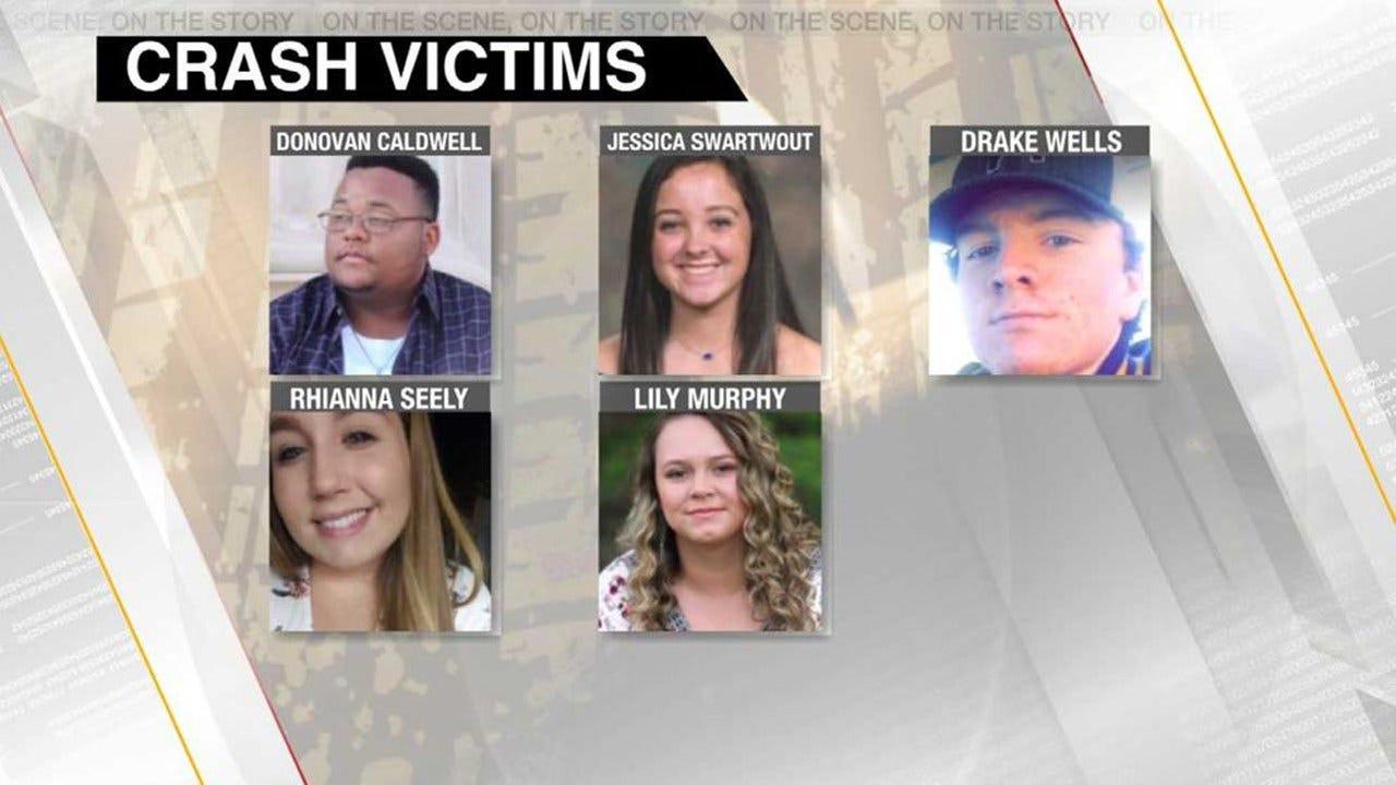 Candlelight Vigil Held To Mark Anniversary Of Crash That Killed 5 NSU Students
