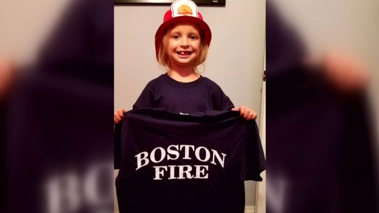 Firefighters Make Hulbert Girl's Wish Come True