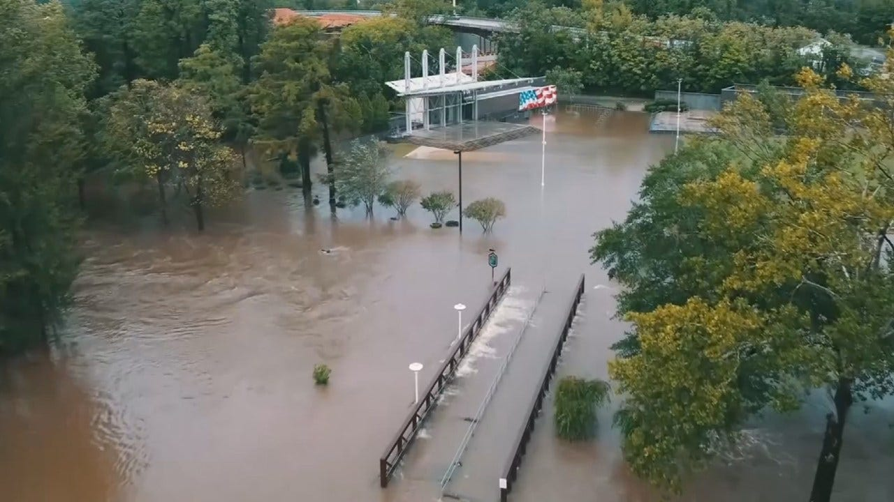 Oklahoma's Task Force One Helping With Rescues In North Carolina
