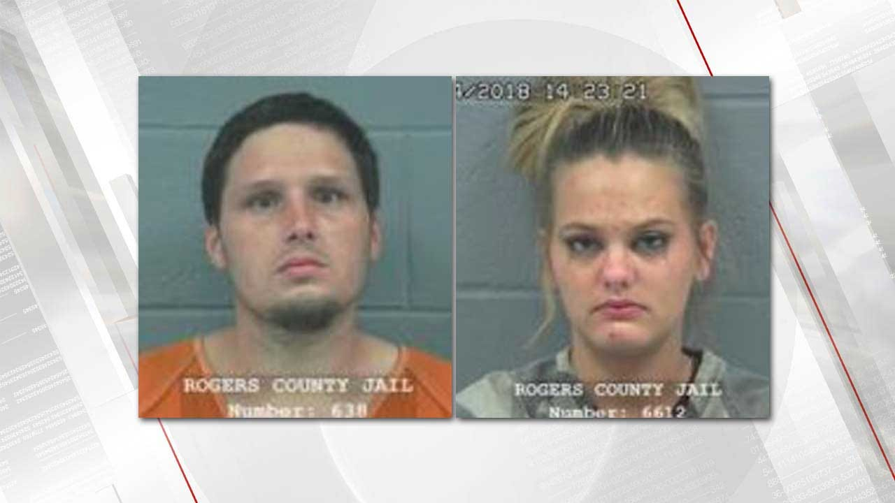Rogers County Deputies Arrest Couple For Child Neglect