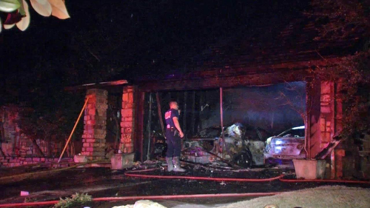 Tulsans Grateful To Escape House Fire