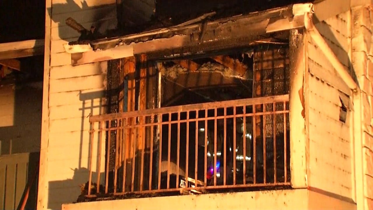 Two Tulsa Apartments Damaged In Sunday Fire