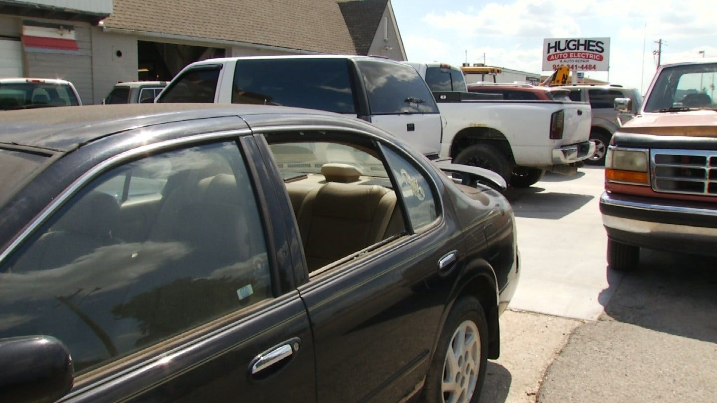 BB Gun Used To Vandalize Claremore Businesses And Vehicles