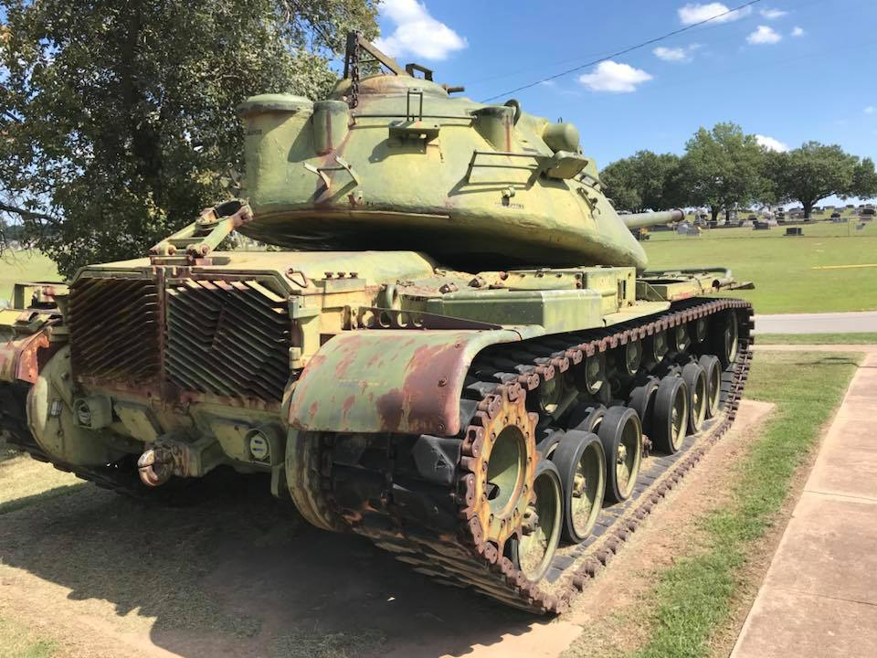 Bristow VFW Says Someone Stole Piece Of Vietnam Era Tank