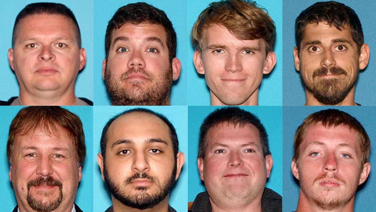 Police Sergeant, Firefighter Among 24 Arrested In New Jersey Child Sex Sting