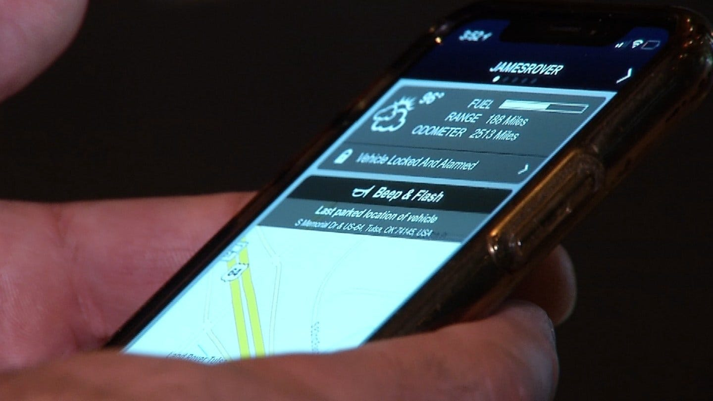Tulsa Man Uses Cell Phone App To Track Down Stolen Car