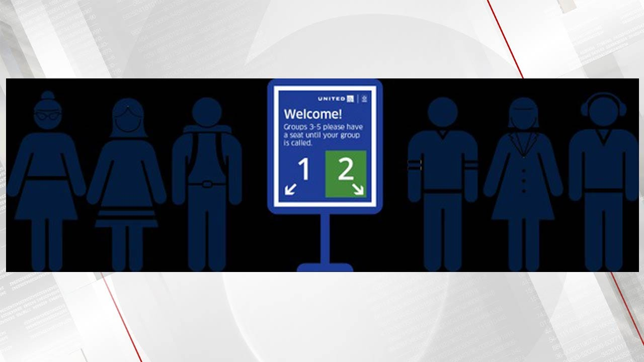 United Airlines Introduces New Boarding Process Nationwide
