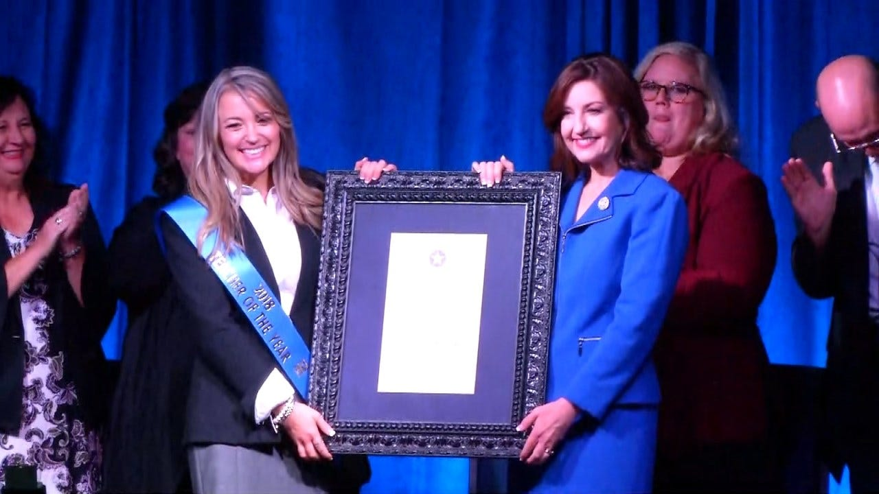 Yukon Educator Is Oklahoma's New 'Teacher Of The Year'