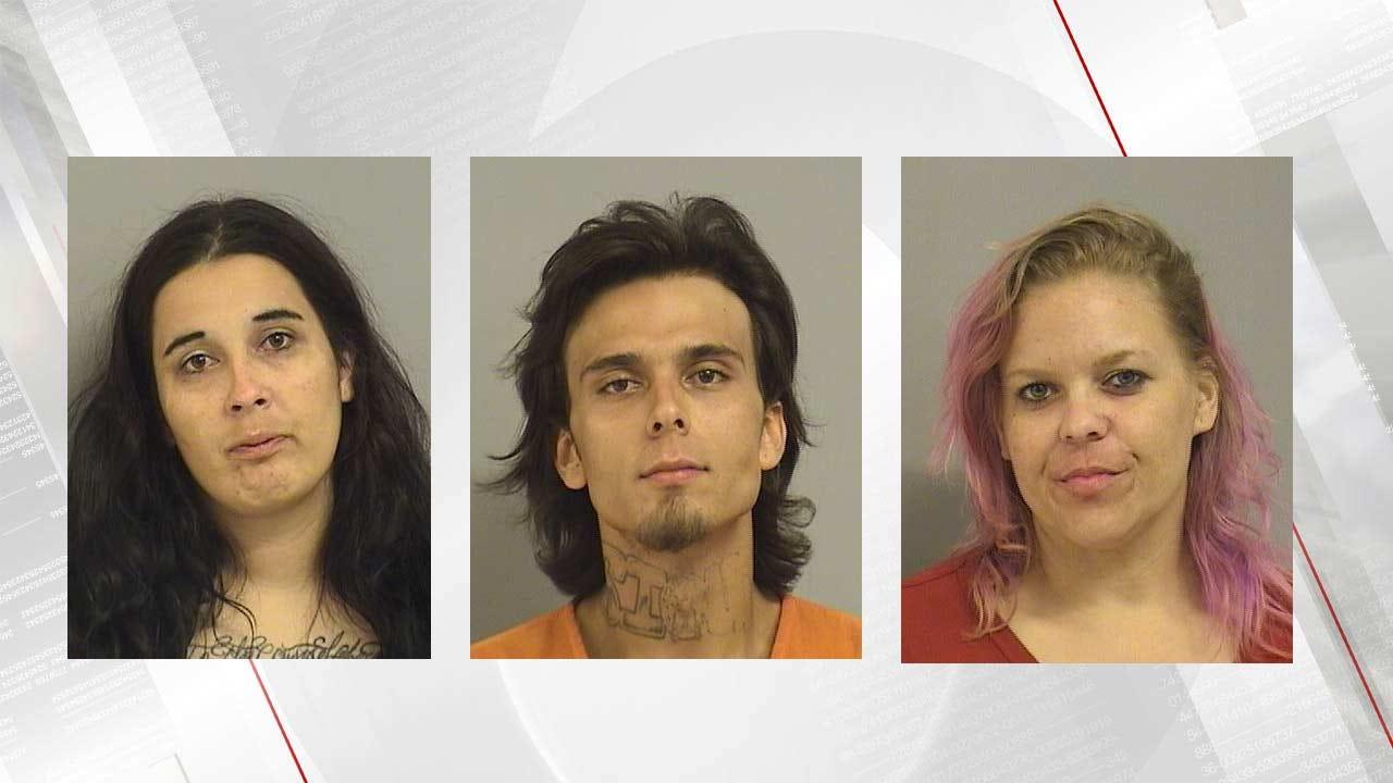 Tulsa Police Arrest Three After Stolen Car Chase