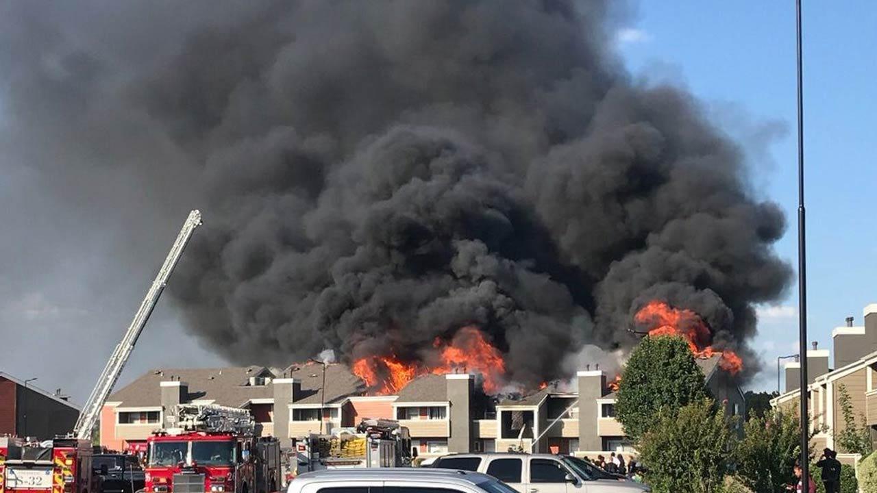 Cause Of Tulsa Apartment Complex Fire Still Under Investigation