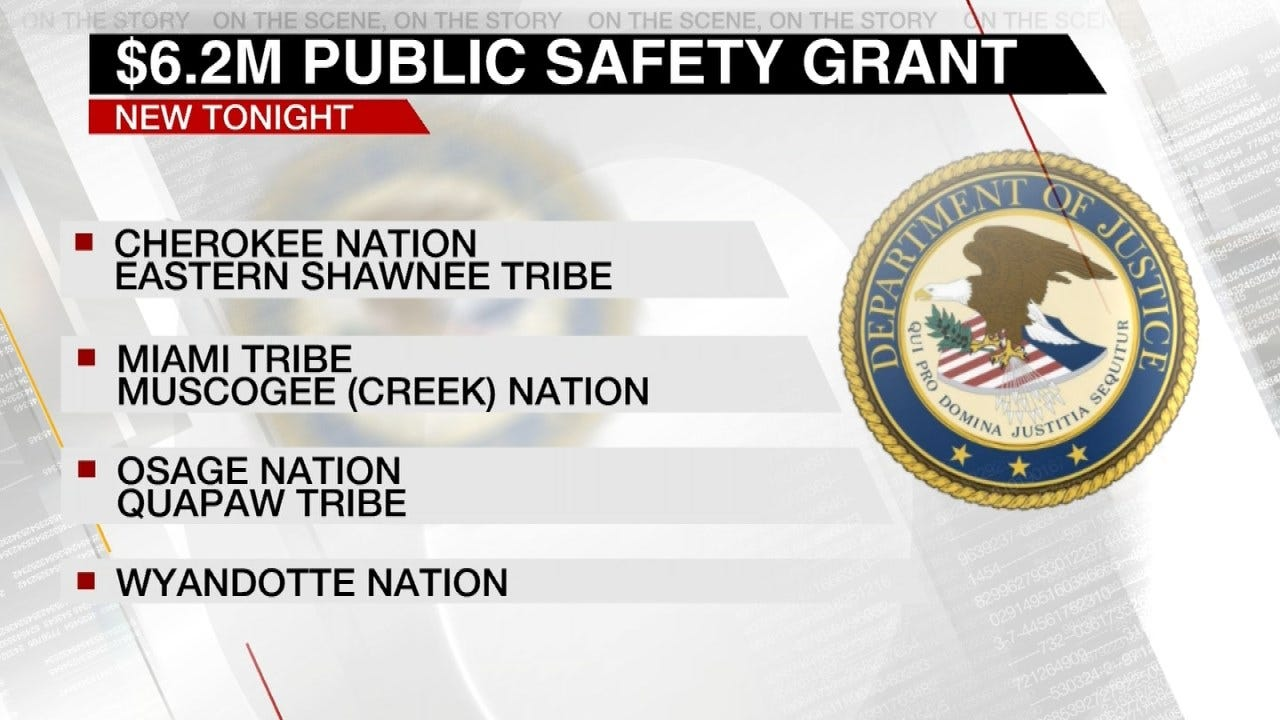 Feds Award Safety Grants To Oklahoma Native American Tribes