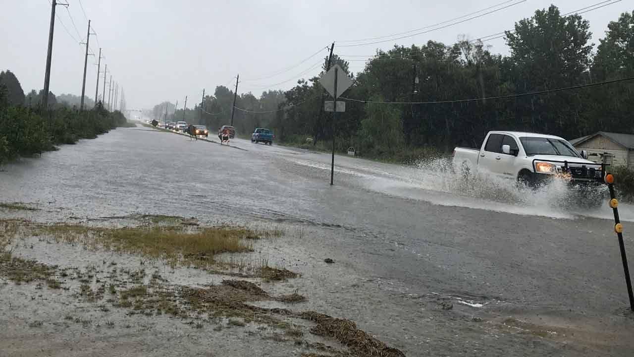 Heavy Rains Causing Trouble Around Oklahoma