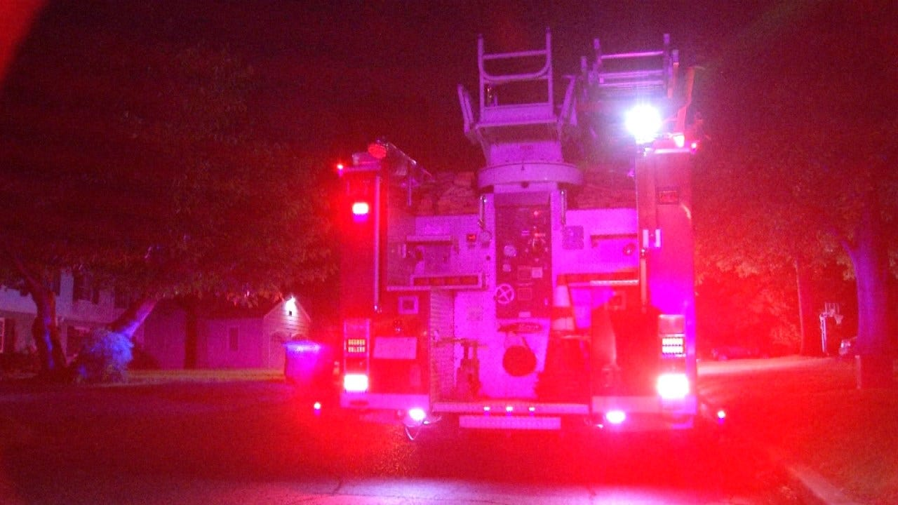 Tulsa Home Damaged In Early Friday Fire