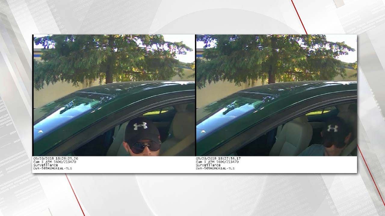 Bank Photos Show Suspect In Tulsa Robbery, Kidnapping