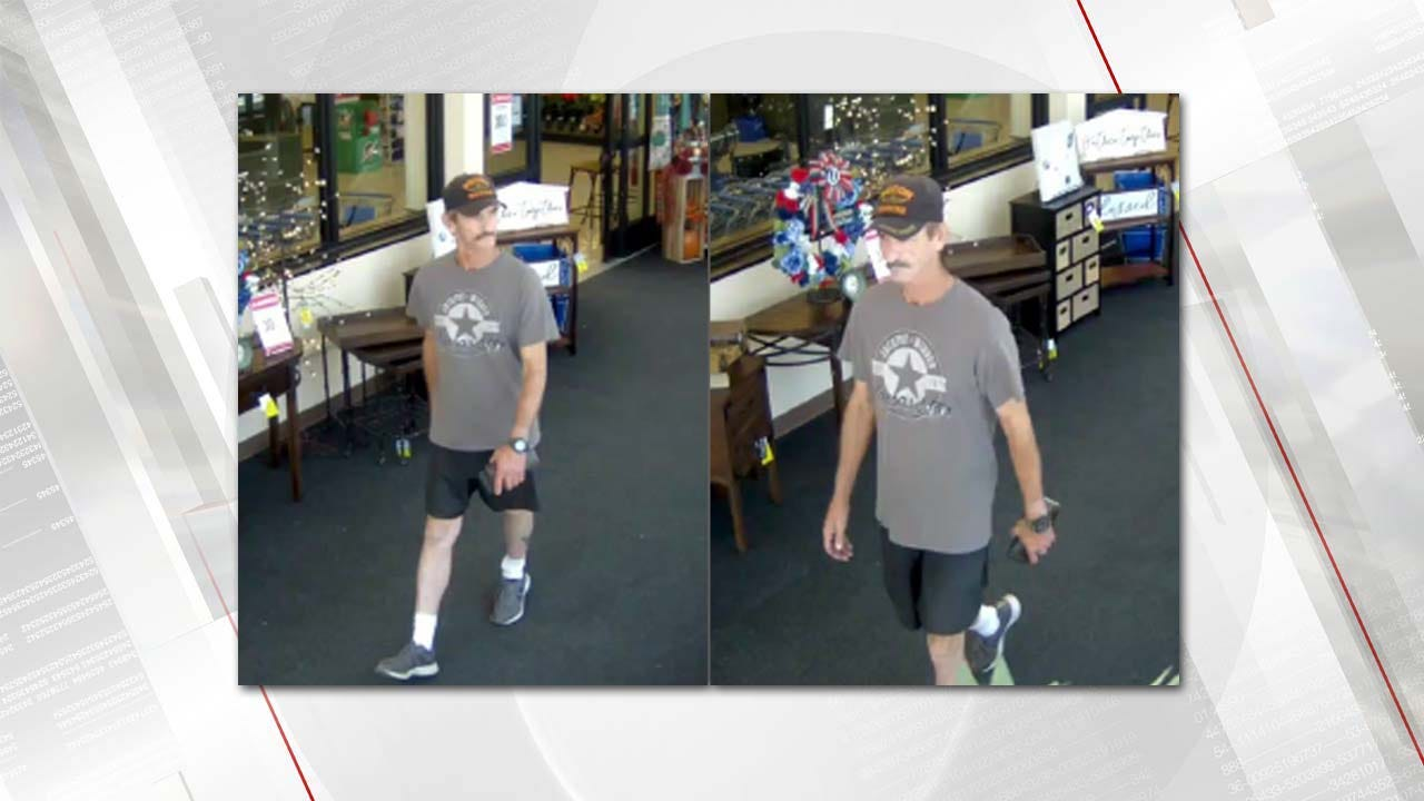 Man Sought In Connection To Indecent Exposure At Broken Arrow Hobby Lobby