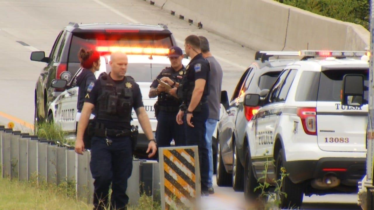 Motorcycle Rider Dies In Tulsa Highway Crash