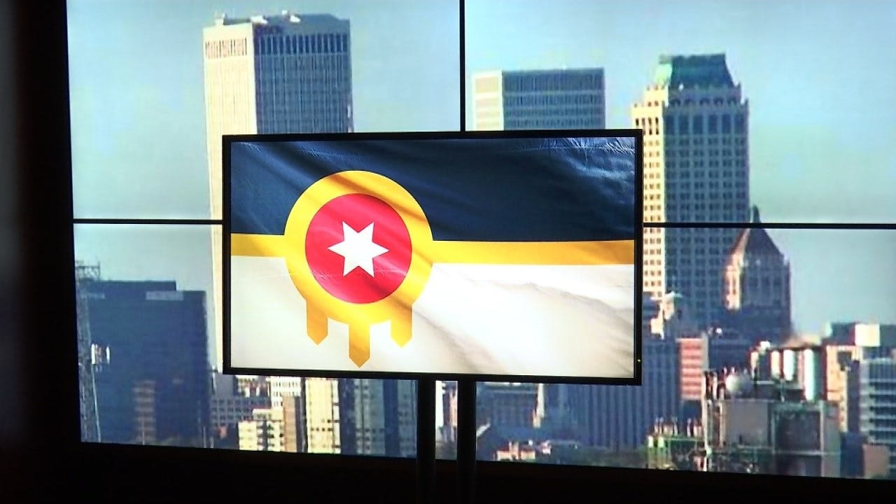 City Council To Consider Officially Adopting Tulsa's Unofficial Flag