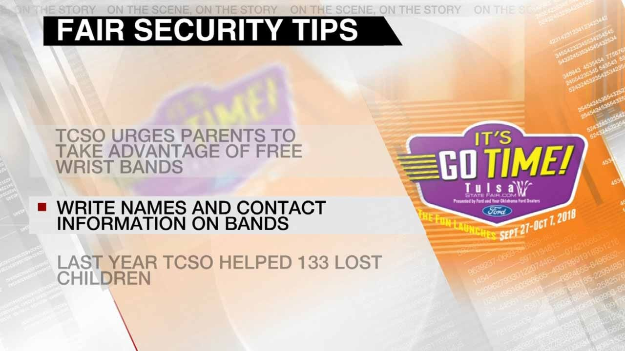 TCSO Offers Tips To Keep Families Safe At The Tulsa State Fair