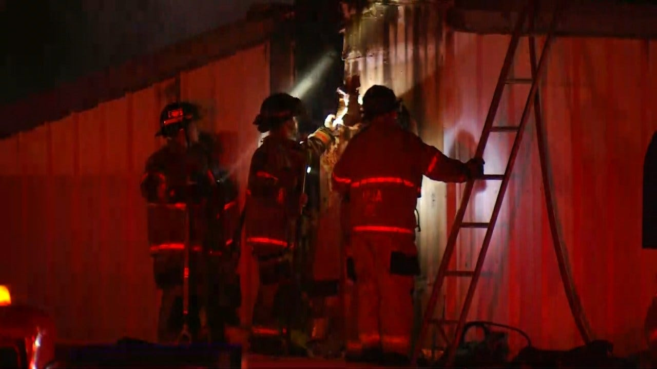 Vacant Tulsa Business Damaged By Fire