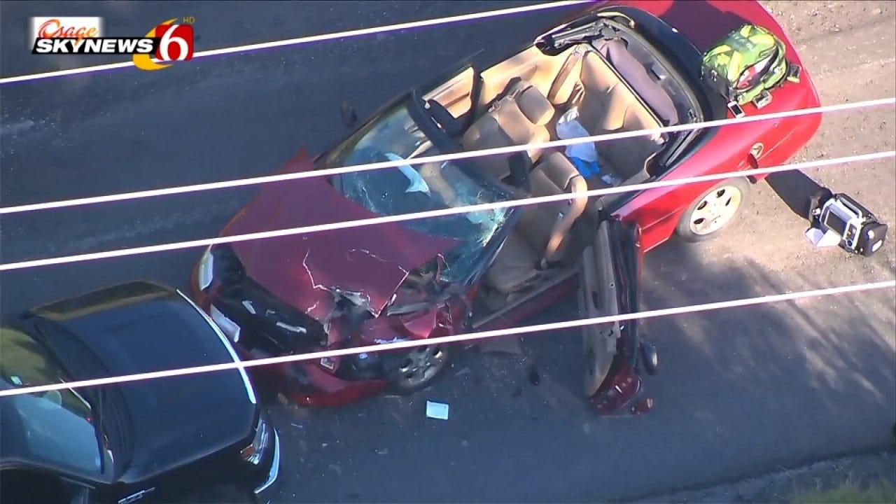 Driver Critical Following Tulsa County Head-On Crash