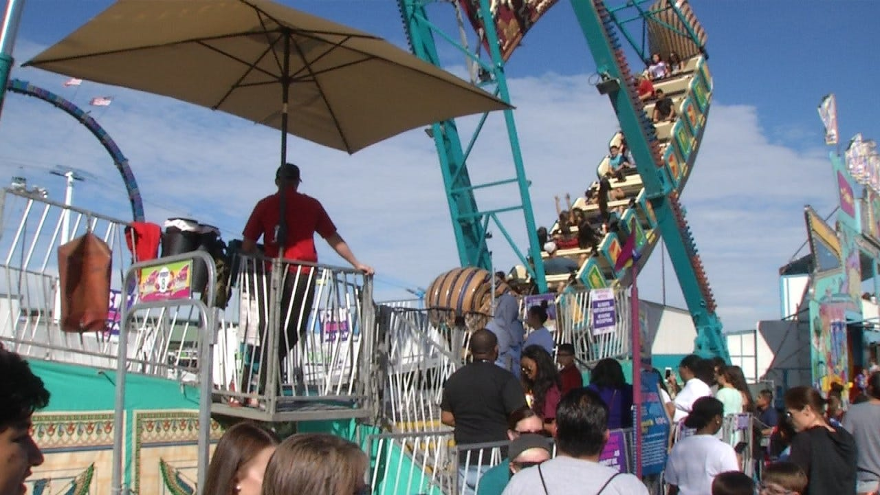 Every Ride At Tulsa's State Fair Is Getting Inspected Today