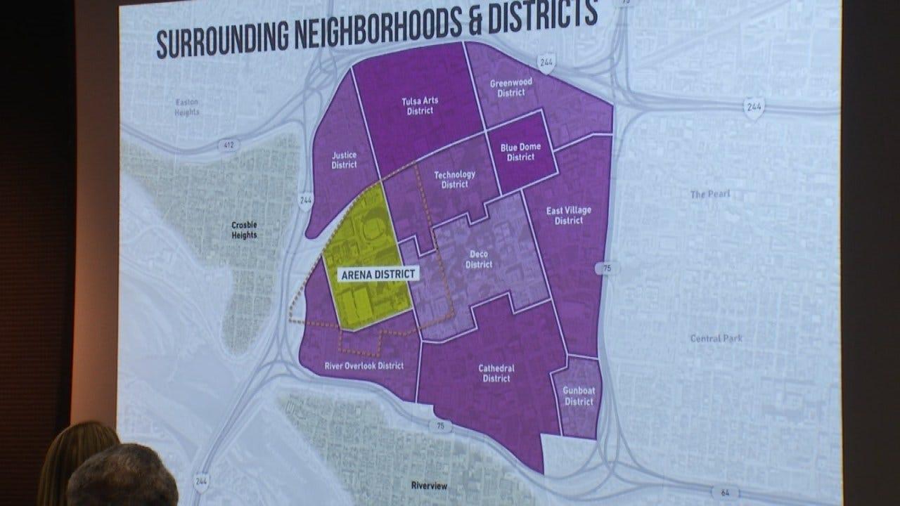 Tulsa's 'Arena District' Seeking Additional Development Ideas