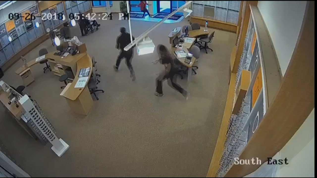 Broken Arrow Police Work To Find Robbery Suspect