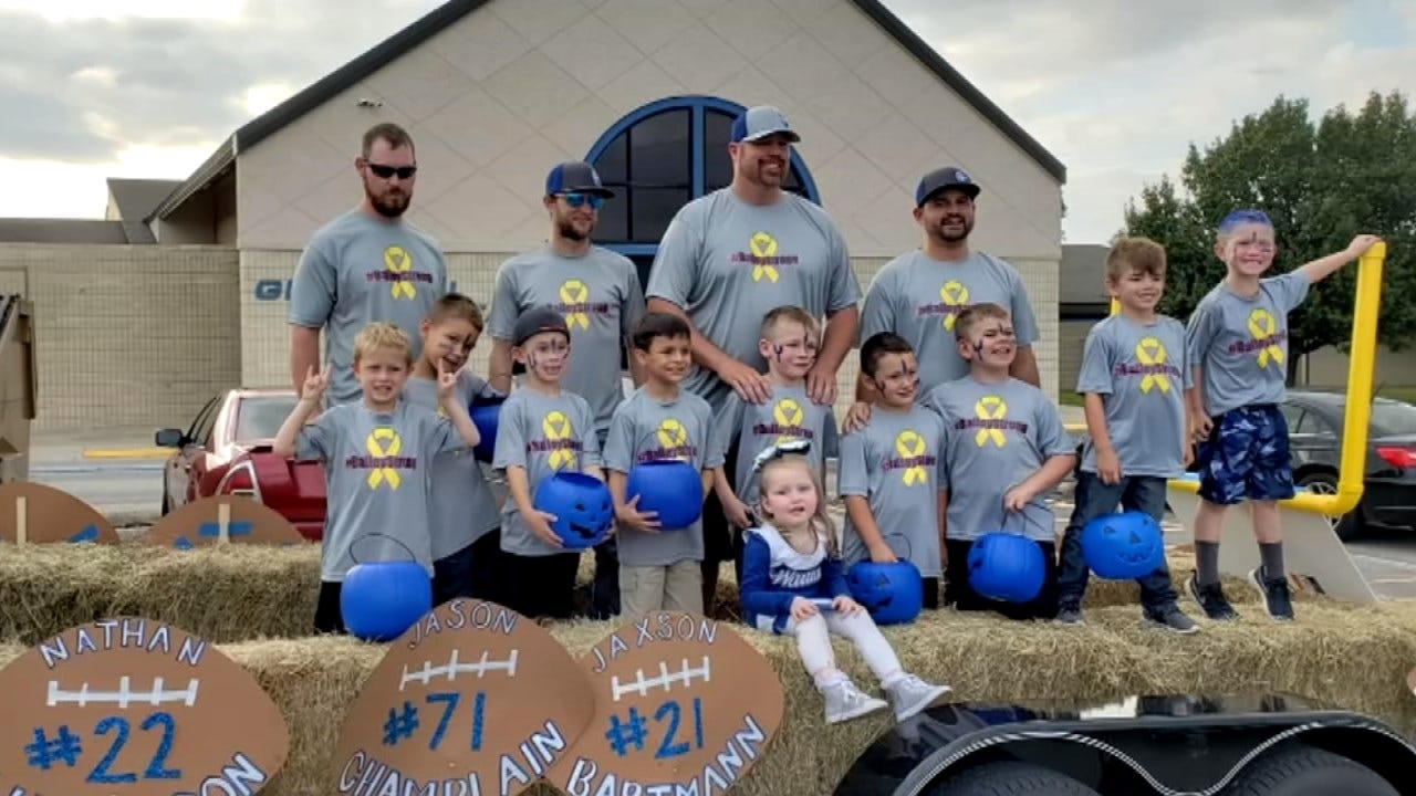 Glenpool Girl Battling Brain Cancer Honored At Homecoming Parade