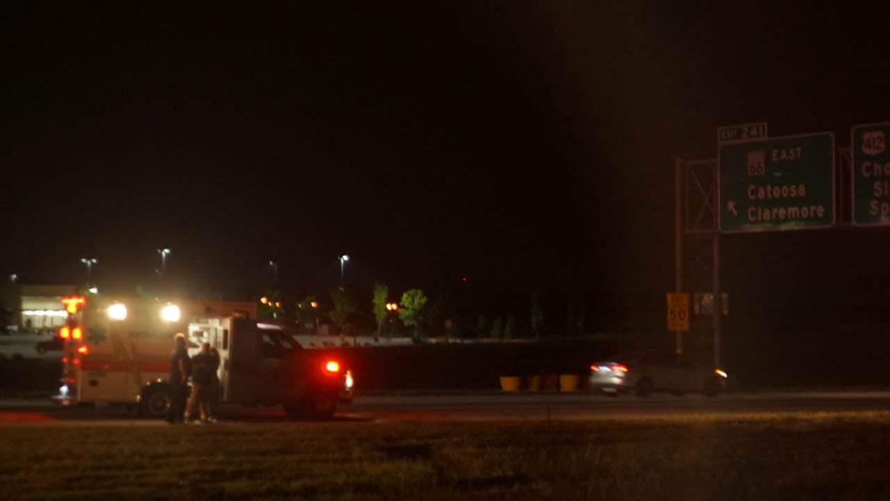 Pedestrian Killed On I-44 In Catoosa