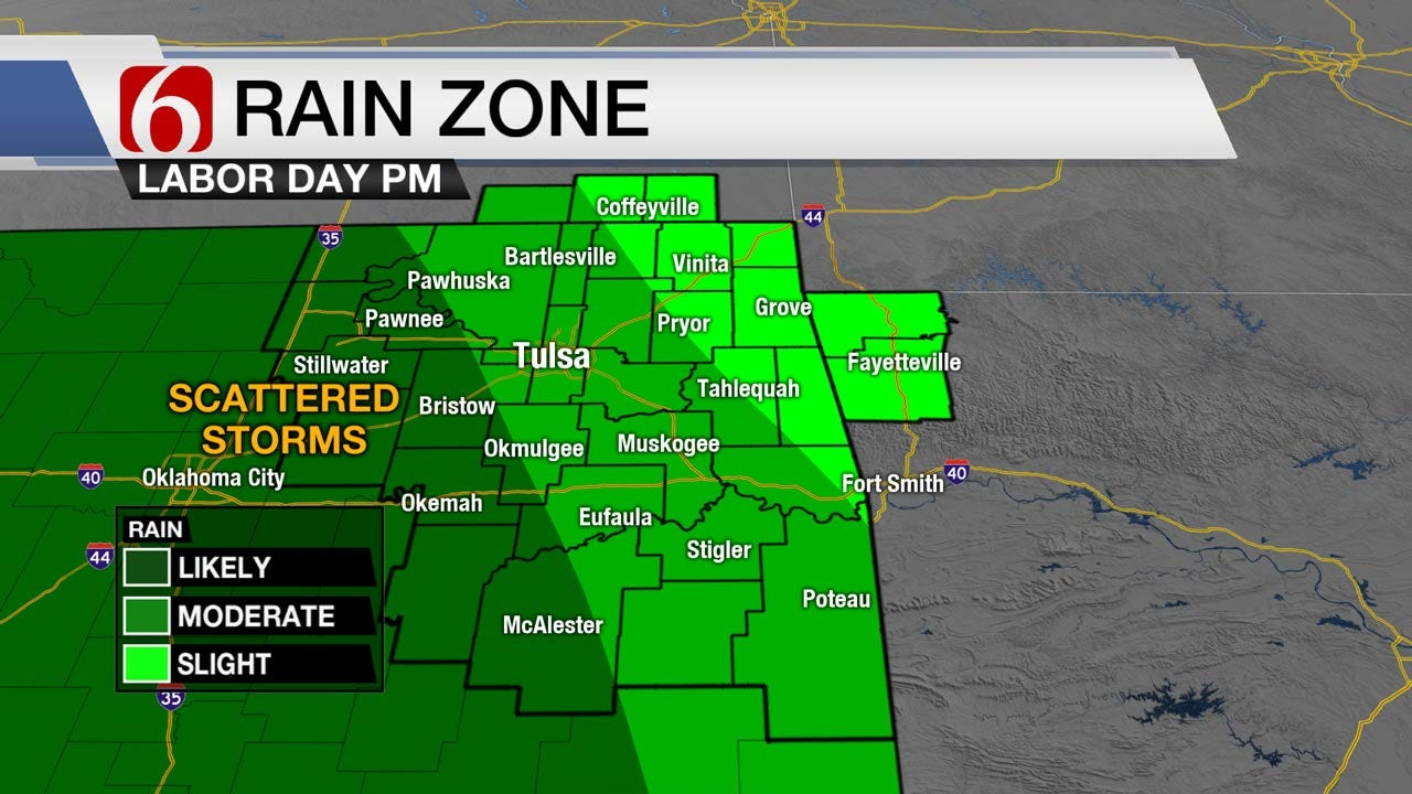 Dodging Storms Across East Oklahoma This Labor Day