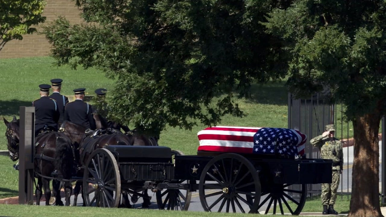 John McCain Laid To Rest At U.S. Naval Academy