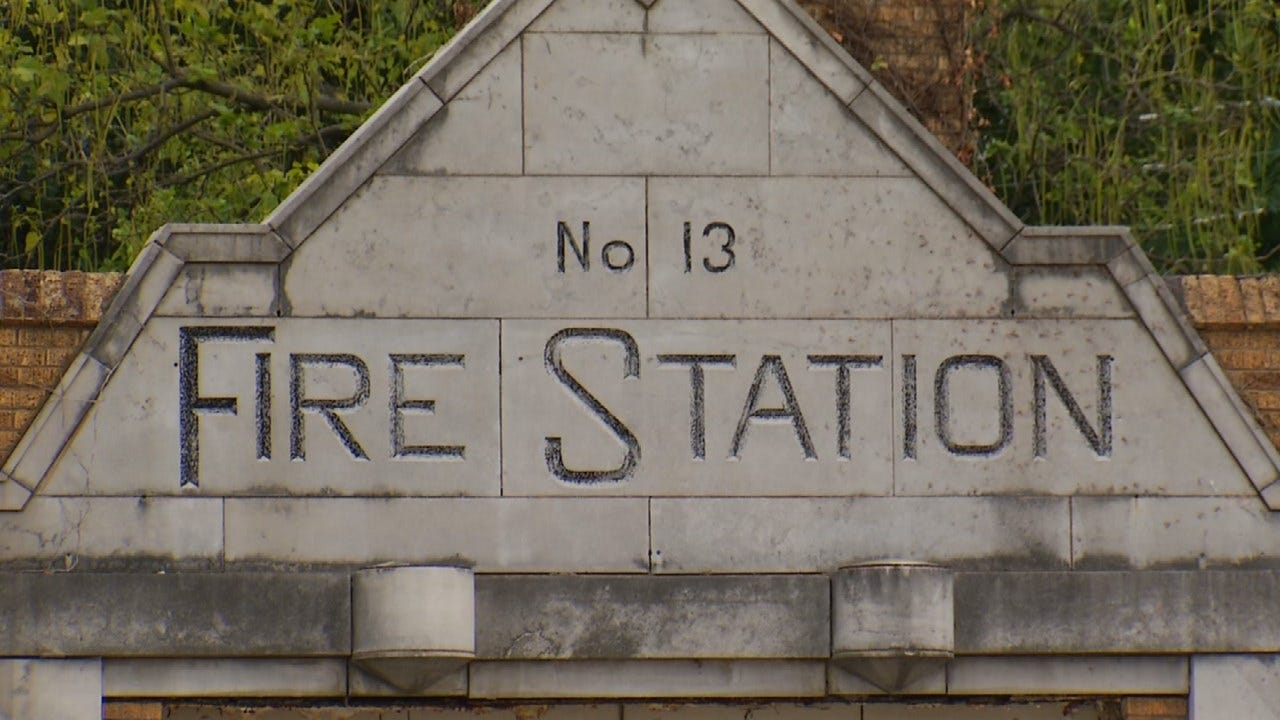 Old Art Deco Tulsa Fire Station For Sale