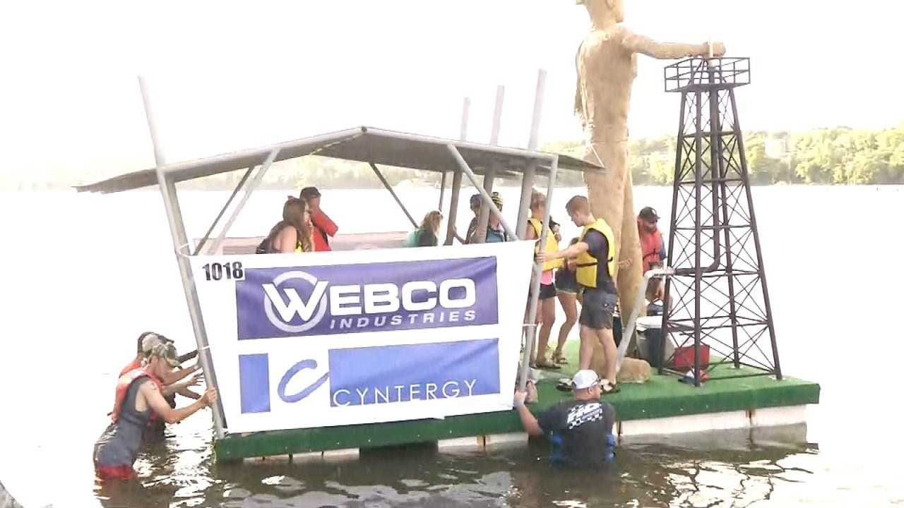 Popularity Of Tulsa's Great Raft Race Continues To Grow