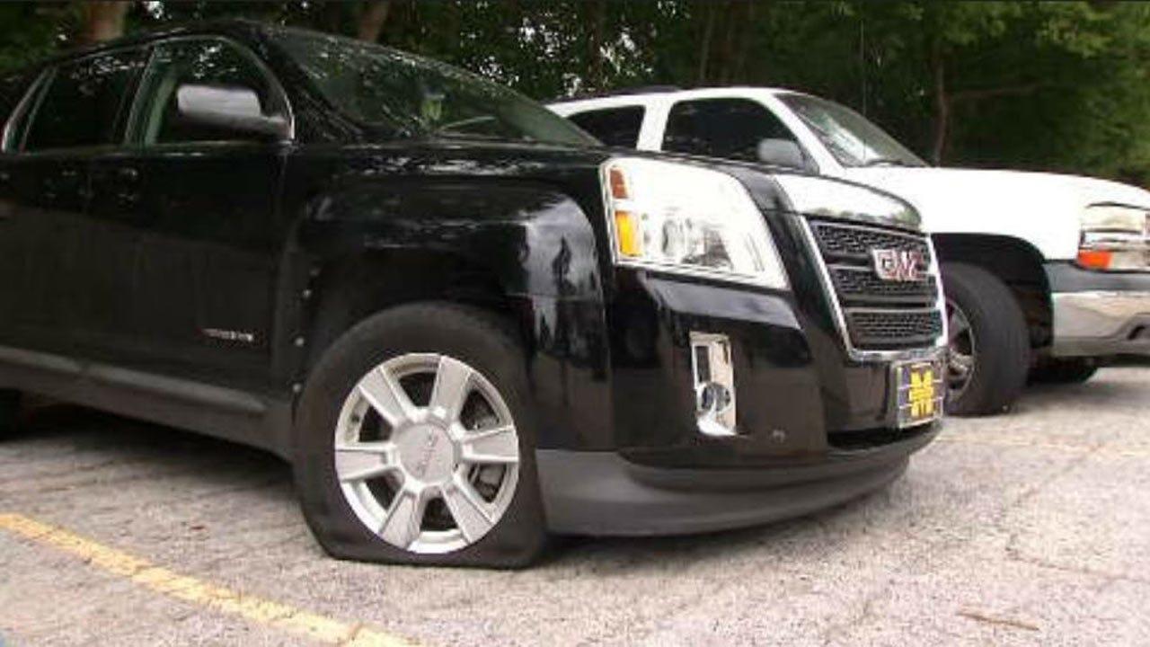 Vandals Slash Over a Dozen Tires At Tulsa Apartment Complexes