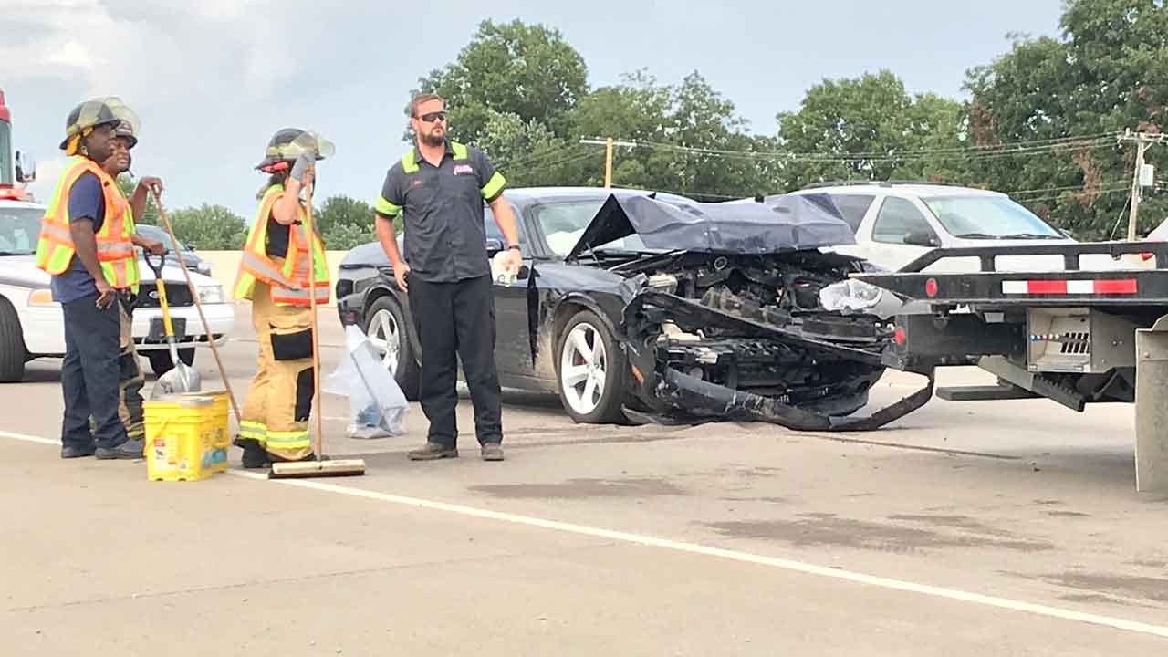 Drivers Cited For No License, Insurance After Wreck Involving Tulsa Police Car