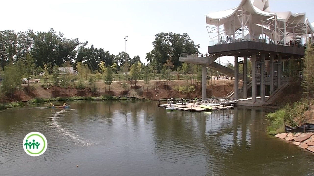 Gathering Place Boathouse: A Piece Of Functional Art