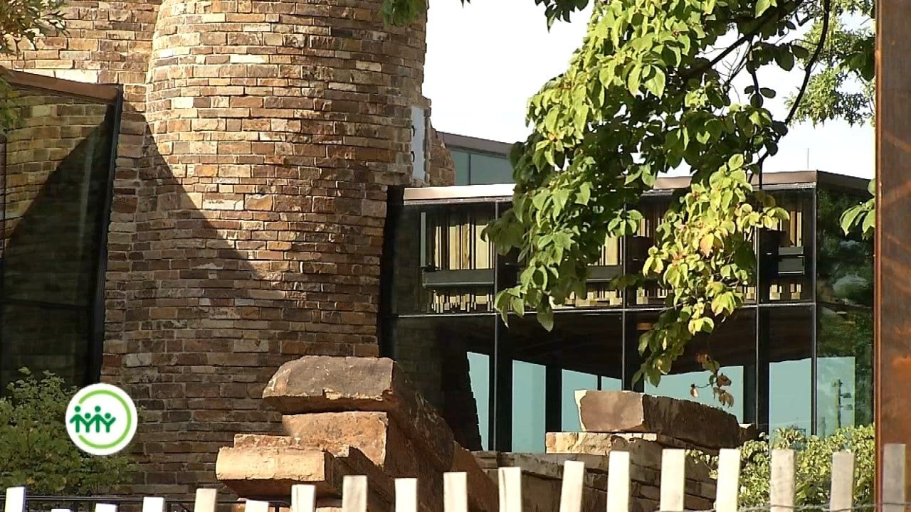 Gathering Place's Williams Lodge Built Of Oklahoma Native Stone