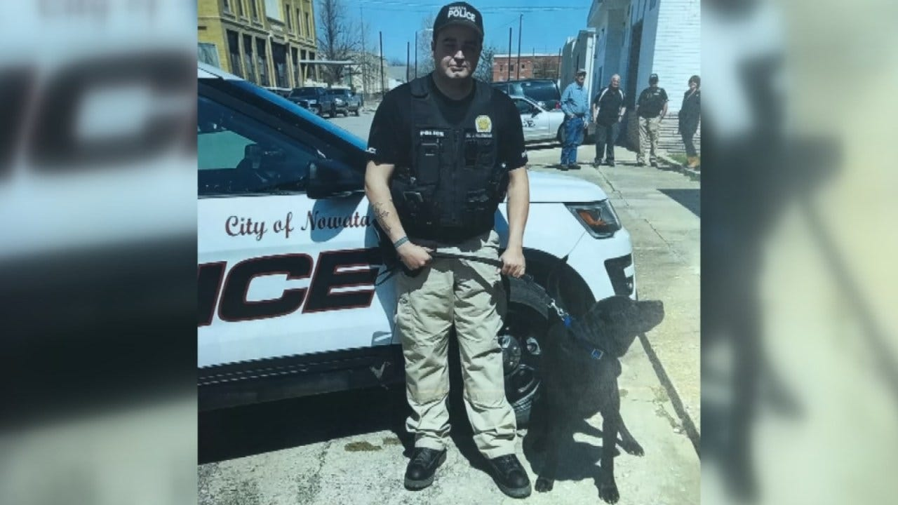Groups Around The World Reach Out To Help Nowata PD After K9 Officer Is Killed