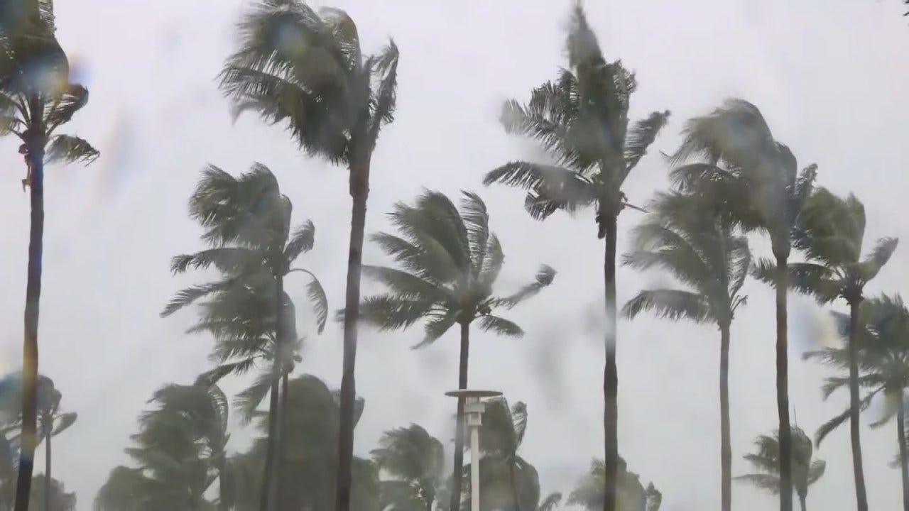 Tropical Storm Gordon Moves Toward Gulf Coast
