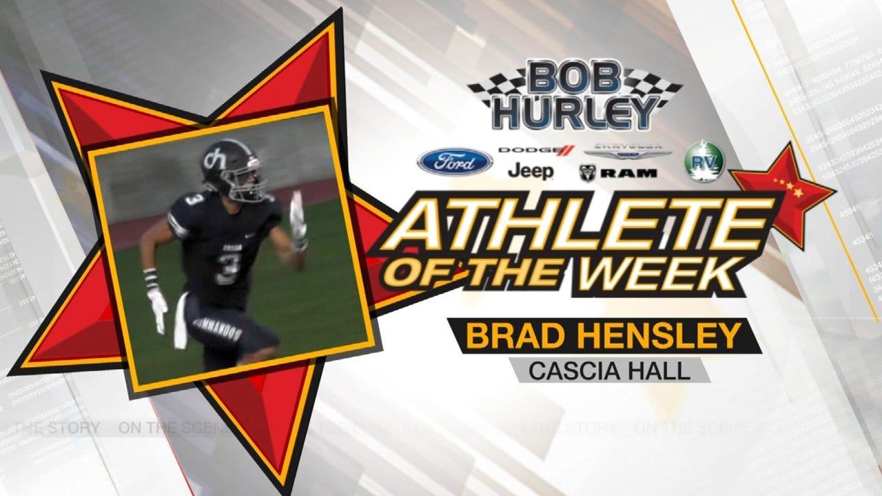 Week 1 Athlete Of The Week: Cascia Hall's Brad Hensley