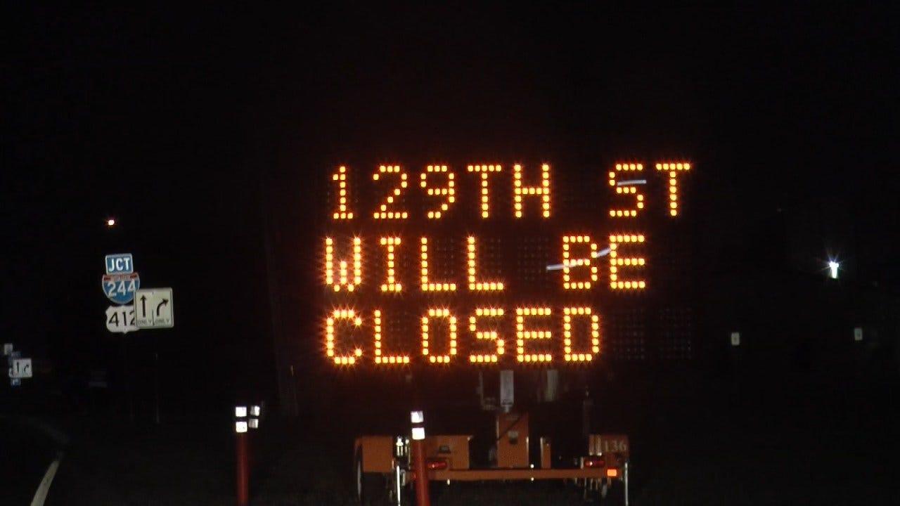 Work Begins On Replacing Tulsa Bridge Over I-244